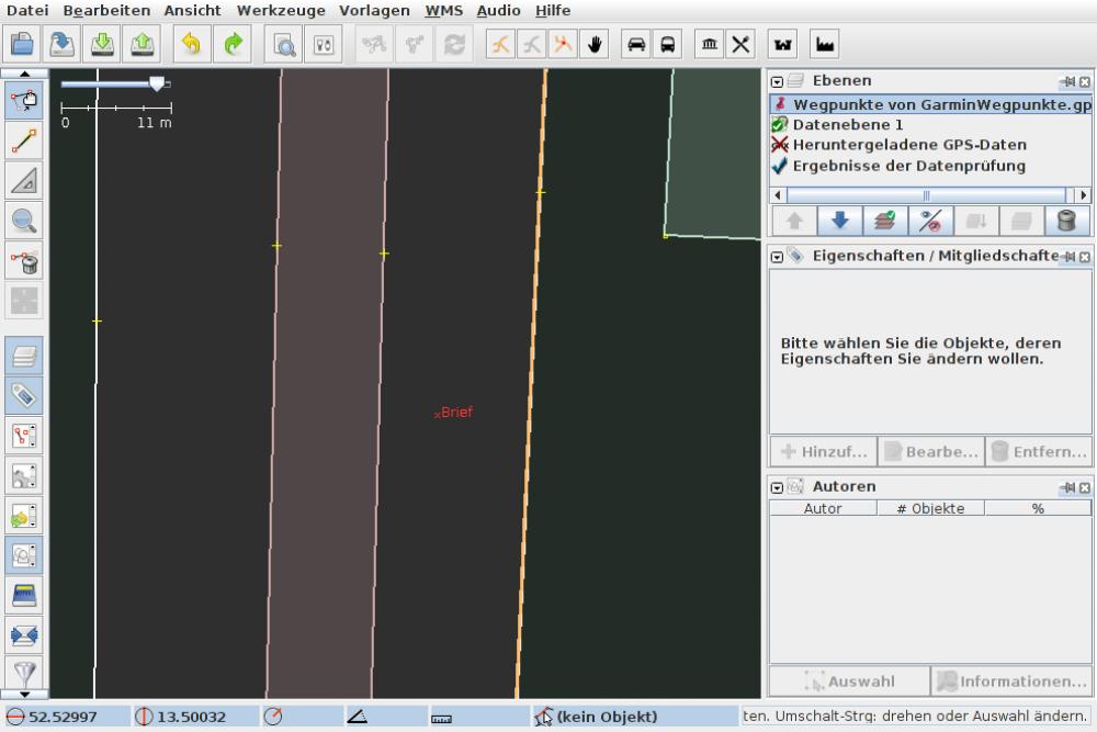 Java OpenStreetMap Editor