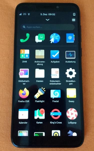 Mobian auf dem PinePhone mit Posh-Oberfläche